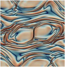 Advanced lattice Boltzmann scheme for high-Reynolds-number magneto-hydrodynamic flows