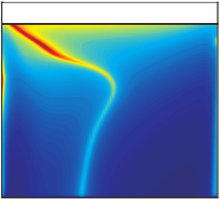 Solute segregation in directional solidification : Scaling analysis of the solute boundary layer coupled with transient hydrodynamic simulations